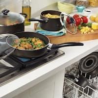 Farberware Black Nonstick 15-piece Cookware Set