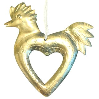 I Love Chickens Metal Ornament (India)