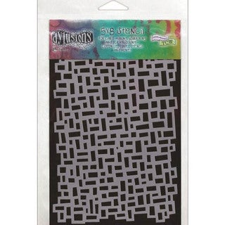 Dyan Reaveley's Dylusions Stencils 5 X8 - Blocks