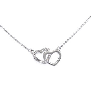 Sterling Silver Plated 1/10ct TDW Diamond Double Heart Necklace (J-K, I2-I3)|https://ak1.ostkcdn.com/images/products/8887287/Sterling-Silver-Plated-1-10ct-TDW-Diamond-Double-Heart-Necklace-J-K-I2-I3-P16109882.jpg?_ostk_perf_=percv&impolicy=medium