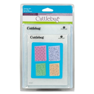 Cricut Cuttlebug 4-piece Emboss Summer Set