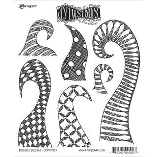 Dyan Reaveley's Dylusions Cling Stamp Collections 8.5 X7 - Doodle Delight