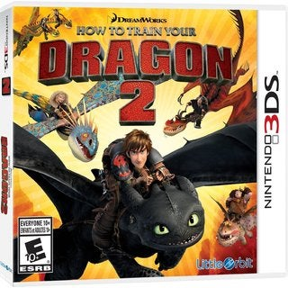 Nintendo 3DS - How to Train Your Dragon 2: The Video Game