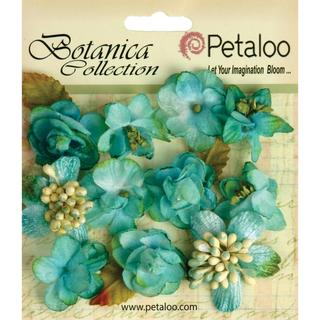 Botanica Minis 11/Pkg - Teal