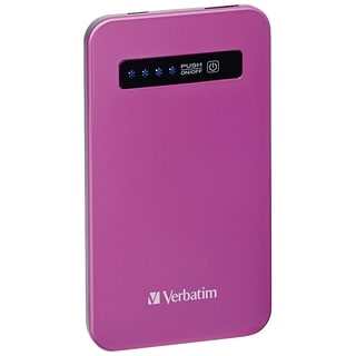 Verbatim Ultra-Slim Power Pack, 4200mAh - Pink - TAA Compliant