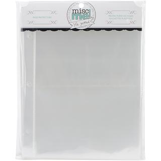 Misc Me Page Protectors 8 X6 40/Pkg - Variety Pack
