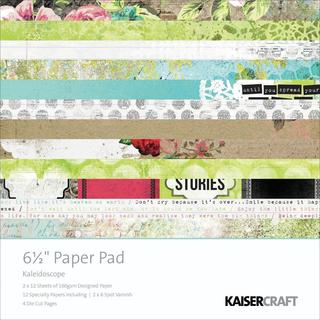 Kaleidoscope Paper Pad 6.5 X6.5  40/Sheets -