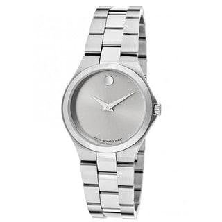 Movado Women's Swiss Quartz Grey Dial Watch