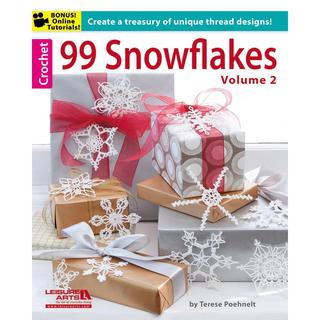 Leisure Arts - 99 Snowflakes, Volume 2