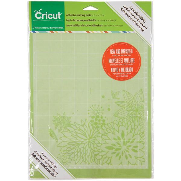 Shop Cricut Mini Cutting Mats 8 5 X12 2 Pkg Standardgrip