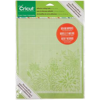 Cricut Mini Cutting Mats 8.5 X12 2/Pkg - StandardGrip