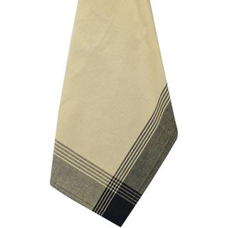 Black & Tea Dye Stripe Mcleod Towel 20 X28 -