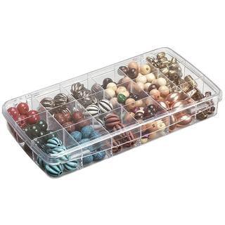 ArtBin Prism Box 18 Compartments - 8.875 X4.875 X1.325 Transparent