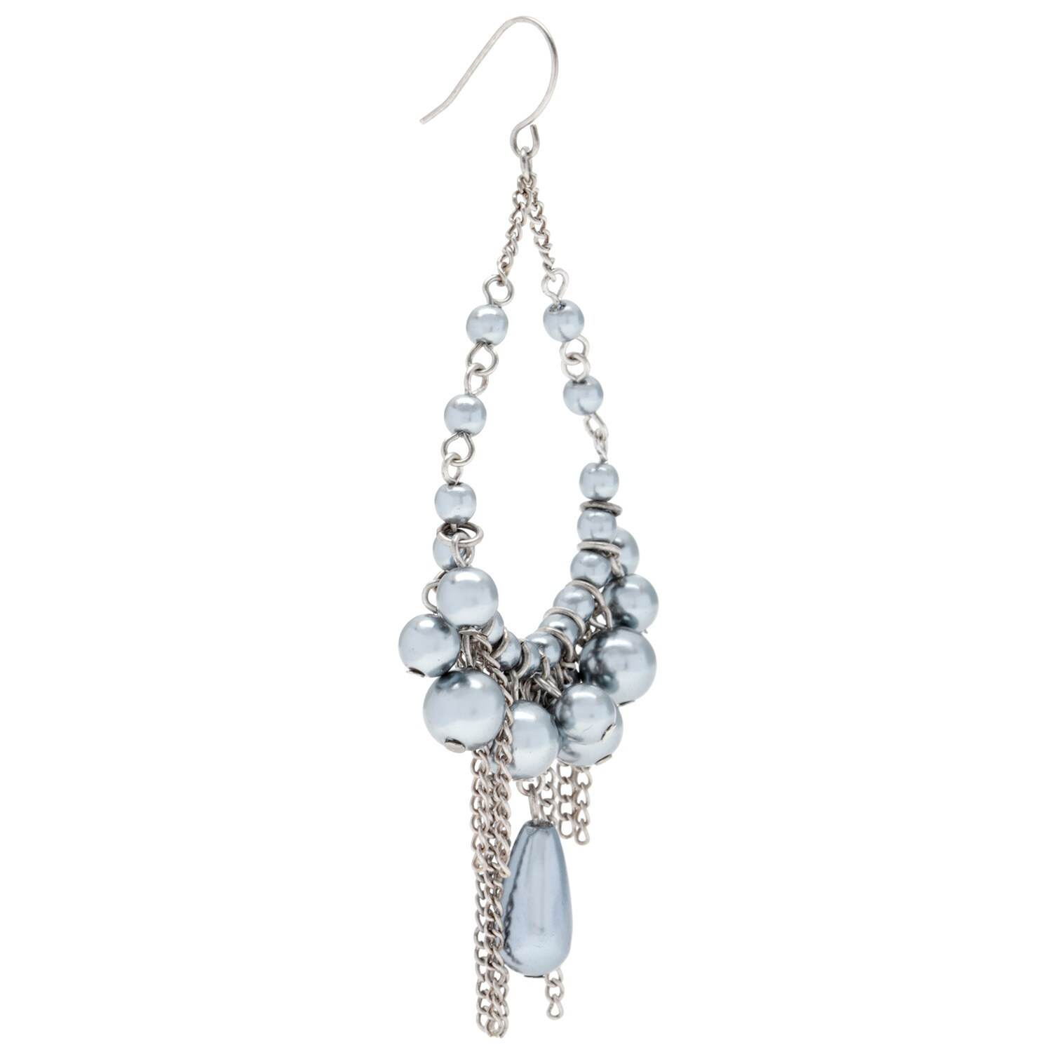 Alexa starr cream pearl chandelier earrings with burnished gold picture 10 of 10 arubaitofo Image collections