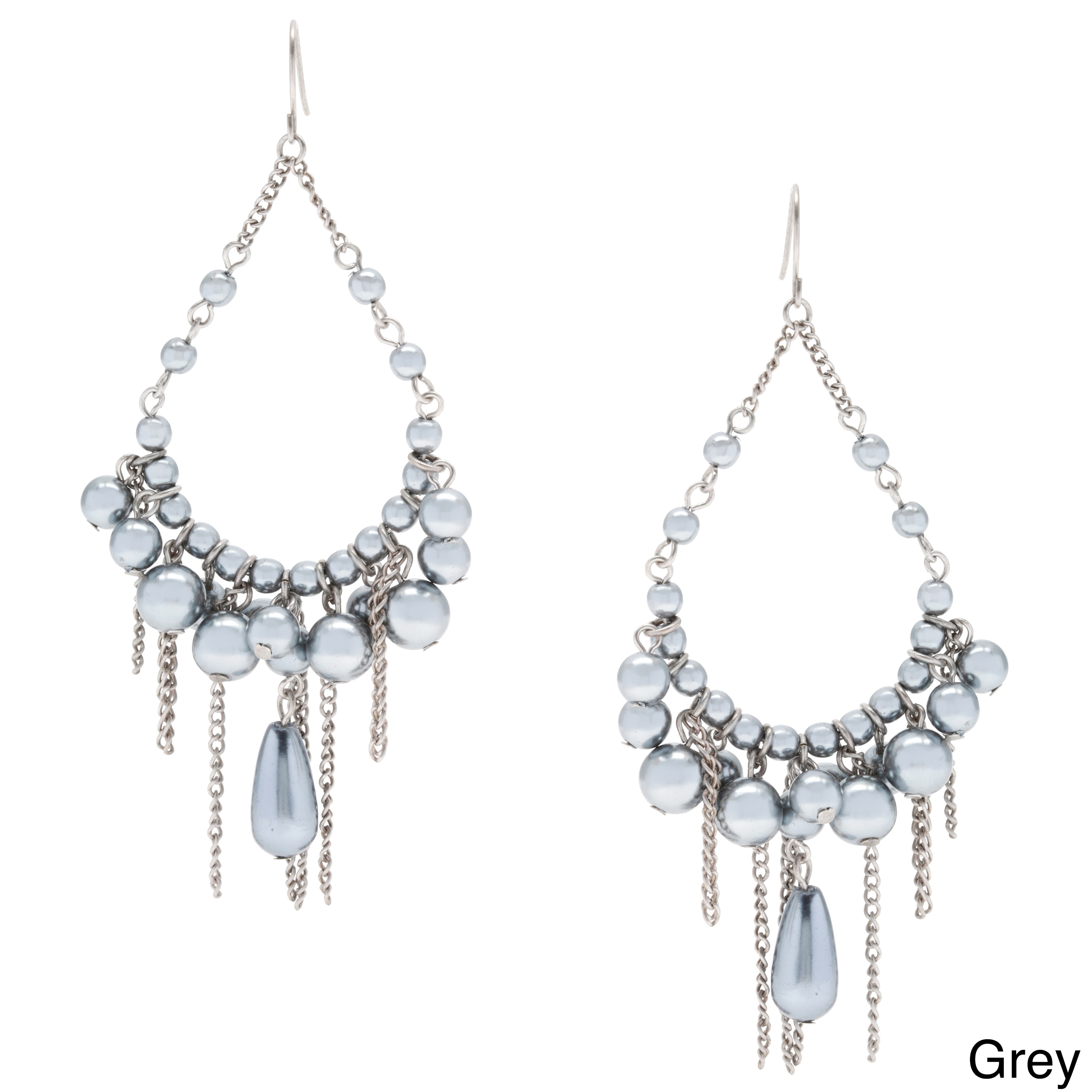Alexa starr cream pearl chandelier earrings with burnished gold help arubaitofo Image collections