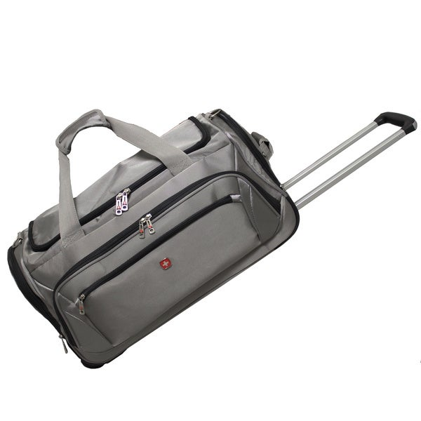 Wenger Swiss Gear Zurich 22-inch Wheeled Lightweight Carry-on Duffle Bag 8edb4dd573