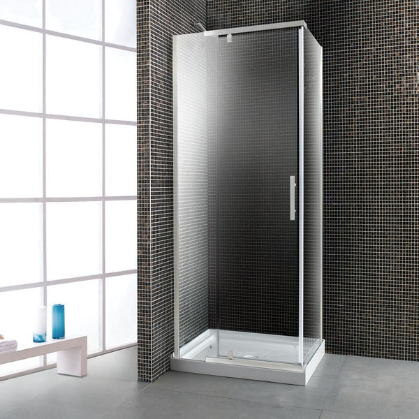 OVE Decors 40 Inch Glass Shower Enclosure With Acrylic Base Free Shipping T