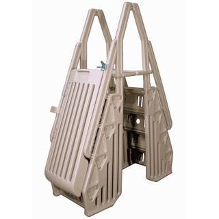 Neptune Taupe A-Frame Entry System for Above Ground Pools|https://ak1.ostkcdn.com/images/products/8891390/Neptune-Taupe-A-Frame-Entry-System-for-Above-Ground-Pools-P16112858.jpg?impolicy=medium