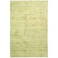 Safavieh Hand-knotted Nepalese Modern Beige Wool/ Silk Rug - 4' x 6'