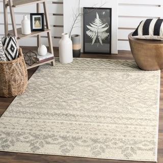 Safavieh Adirondack Ivory/ Silver Rug (4' x 6')
