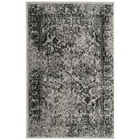 Safavieh Adirondack Vintage Distressed Grey / Black Rug (2'6 x 4')