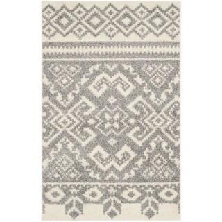 Safavieh Adirondack Southwestern Ivory / Silver Rug (2'6 x 4')