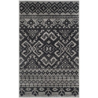 Safavieh Adirondack Silver/ Black Rug (3' x 5')