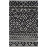 Safavieh Adirondack Southwestern Silver/ Black Rug - 3' x 5'