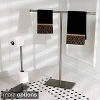Modern Satin Nickel Freestanding Bathroom Accessories