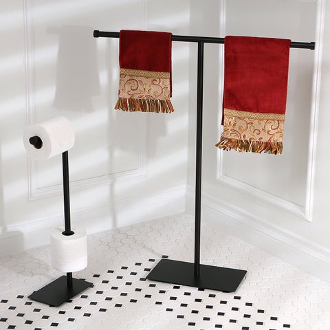Modern Oil Rubbed Bronze Freestanding Bathroom Accessories
