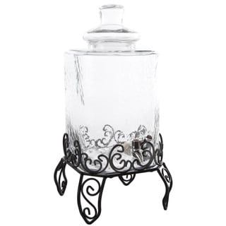 Gibson Home 2.25-gallon Beverage Dispenser with Wire Rack
