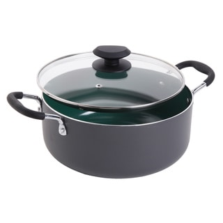 Gibson Home Eco-friendly 5-quart Dutch Oven with Glass Lid