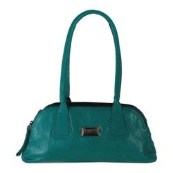 Women's Latico Louise Coinkeeper Shoulder Bag 7614 Caribe Leather