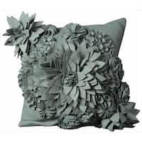 Mina Victory FeltThrow Pillow (20-Inch X 20-Inch)