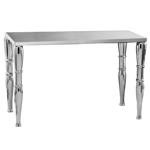 Silvertone Aluminum Extra-long Table