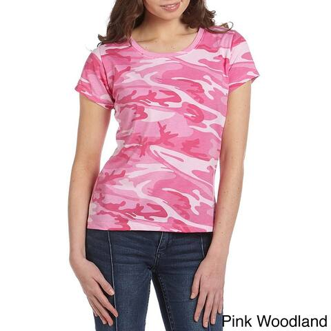 Code V Women's Jersey Cotton Camouflage T-Shirt