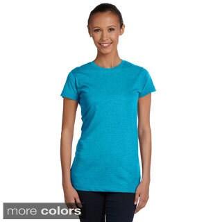 LAT Women's Vintage Jersey Slim T-Shirt