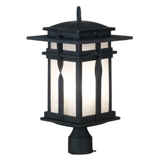 Harriot 1-light Black Outdoor Post Lantern