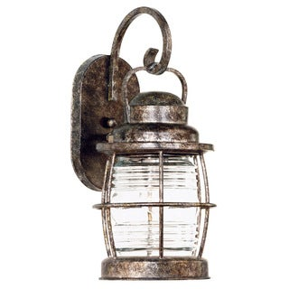 Rockledge Medium 1-light Weathered Bronze Wall Lantern
