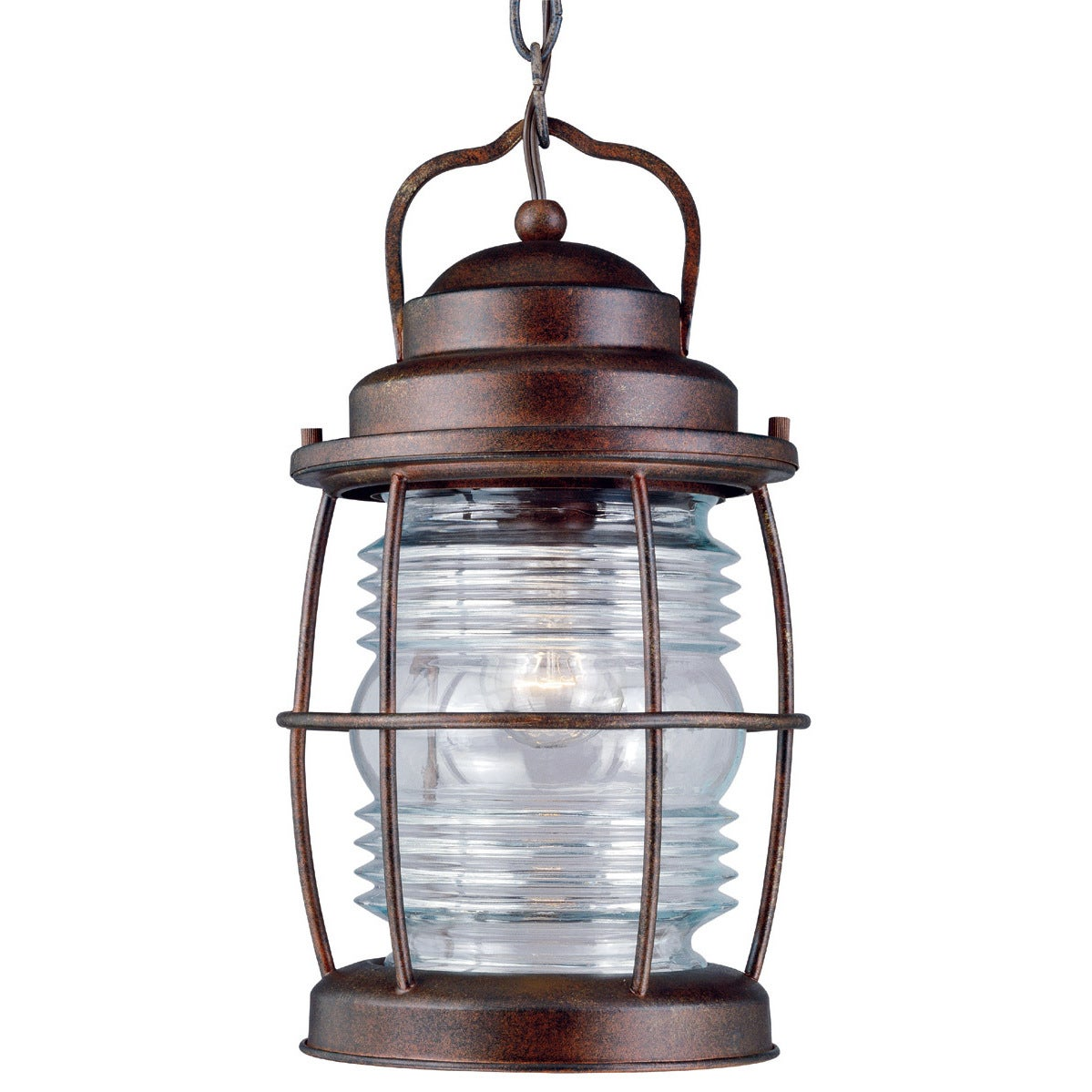 Design Craft Rockledge Medium 1-light Blackened Gilded Co...