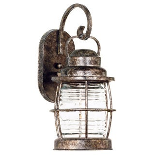 Rockledge Small 1-light Weathered Bronze Wall Lantern
