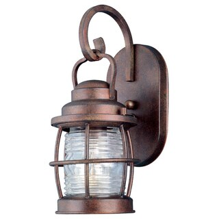 Rockledge Small 1-light Weathered Copper Outdoor Wall Lantern