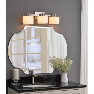 Mountjoy 3-light Steel Vanity