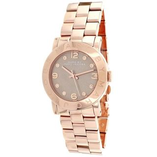 Marc Jacobs Women's MBM3221 Amy Dexter Rosegold Watch