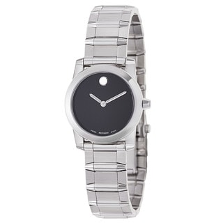 Movado Women's 'Vizio' Stainless Steel Swiss Quartz Watch