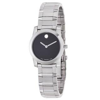 Movado Women's 0606681 'Vizio' Stainless Steel Swiss Quartz Watch