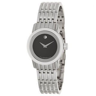 Movado Women's 'Sapphire' Stainless Steel Swiss Quartz Watch