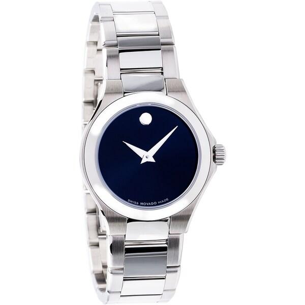 Movado Women's 0606336 'Defio' Stainless Steel Swiss Quartz Watch