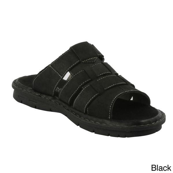 J's Awake Men's Diego-02' 4-strap Slide Sandals