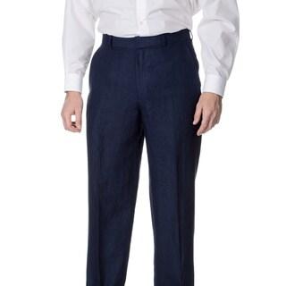 Palm Beach Men's Navy Flat Front Suit Separate Pants